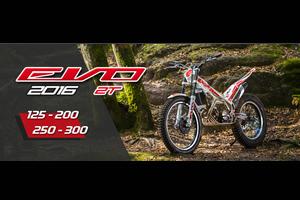 トライアルバイク Evo 2016 model