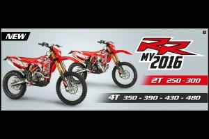 エンデューロバイク RR 2T 2016 model